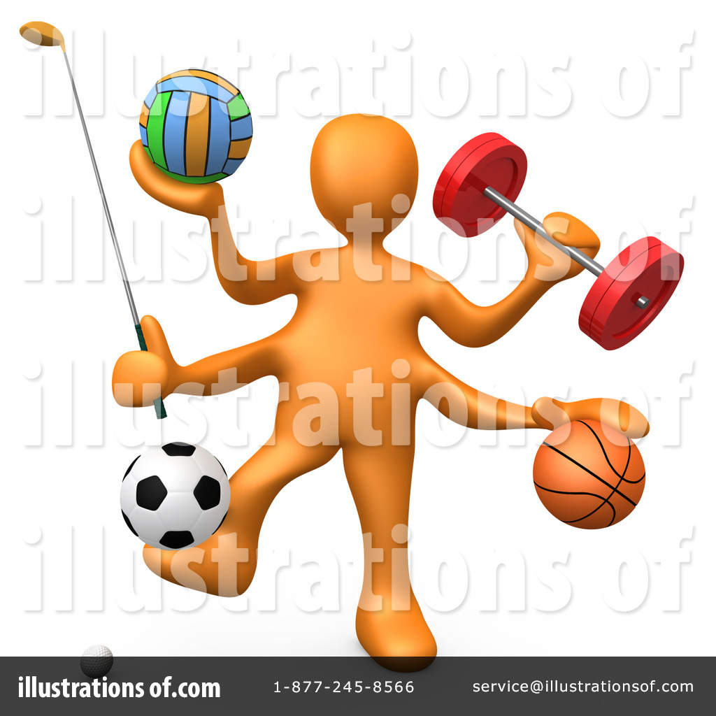 Sports illustration by pod. Athletic clipart athletic director