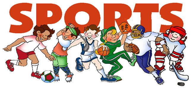 Athletic clipart athletic meet. Sports for boys girls