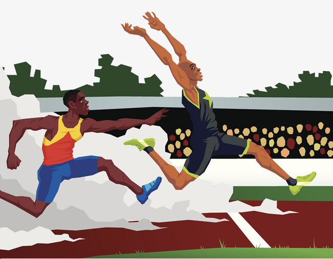 Athletic clipart athletic meet. School track and field