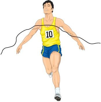 Athletic clipart athletics.  collection of running