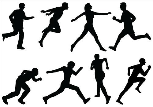 Free athletics . Athlete clipart athletic game