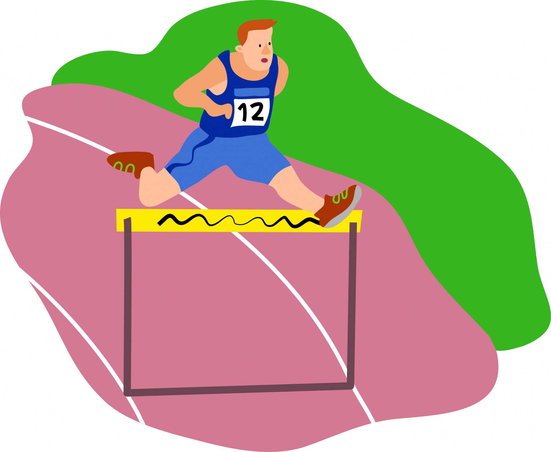 Athletic clipart athletics games. Athlete free stock photo