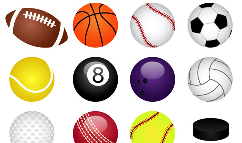 How to organize sports. Athletic clipart ball