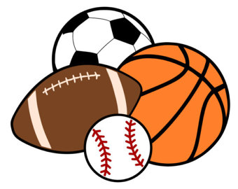 Sports etsy balls basketball. Athletic clipart ball