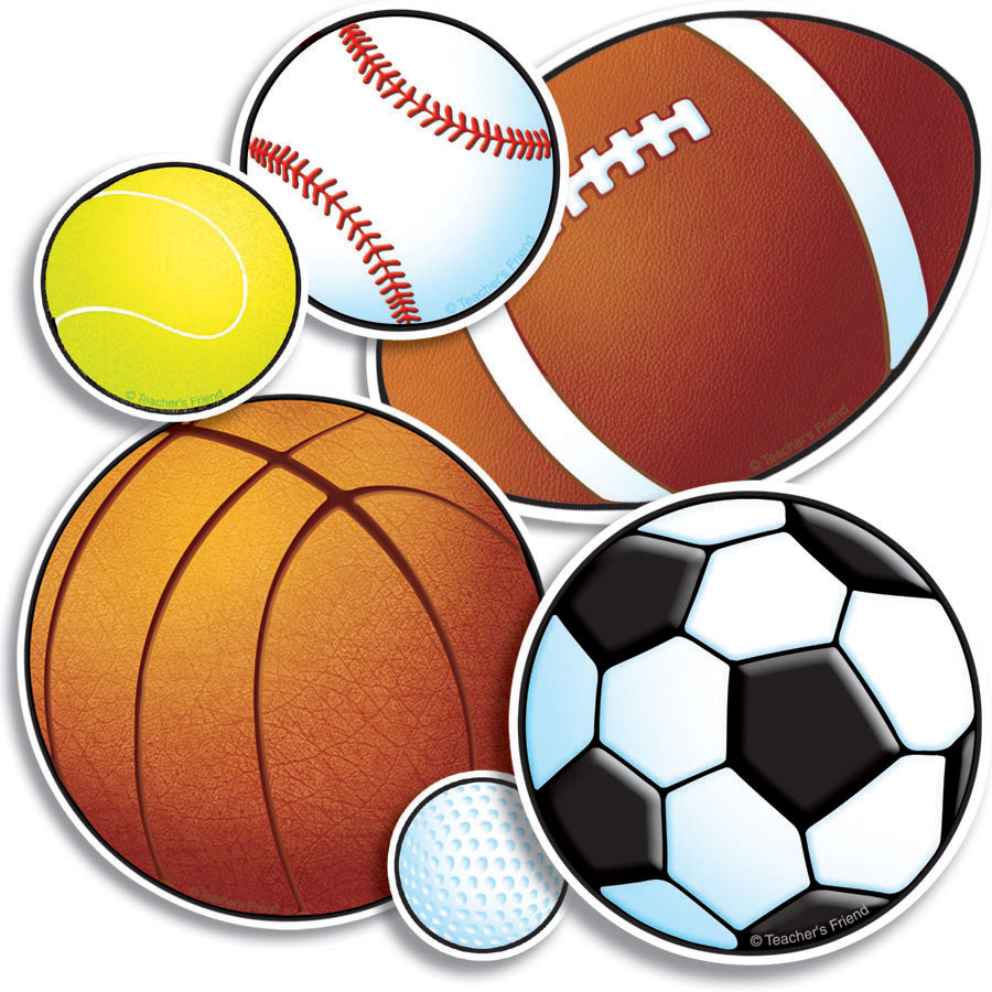 Free pictures of sports. Athletic clipart ball