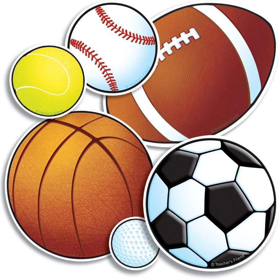 Free sports balls scrapbook. Athletic clipart ball