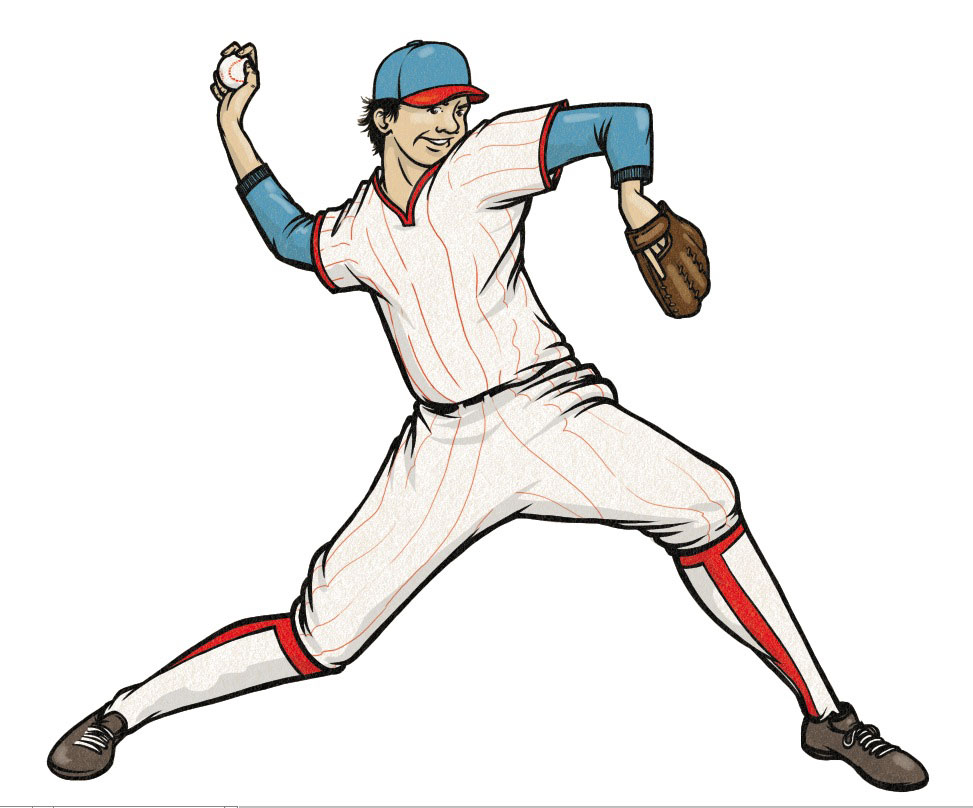 Free batter download clip. Athletic clipart baseball