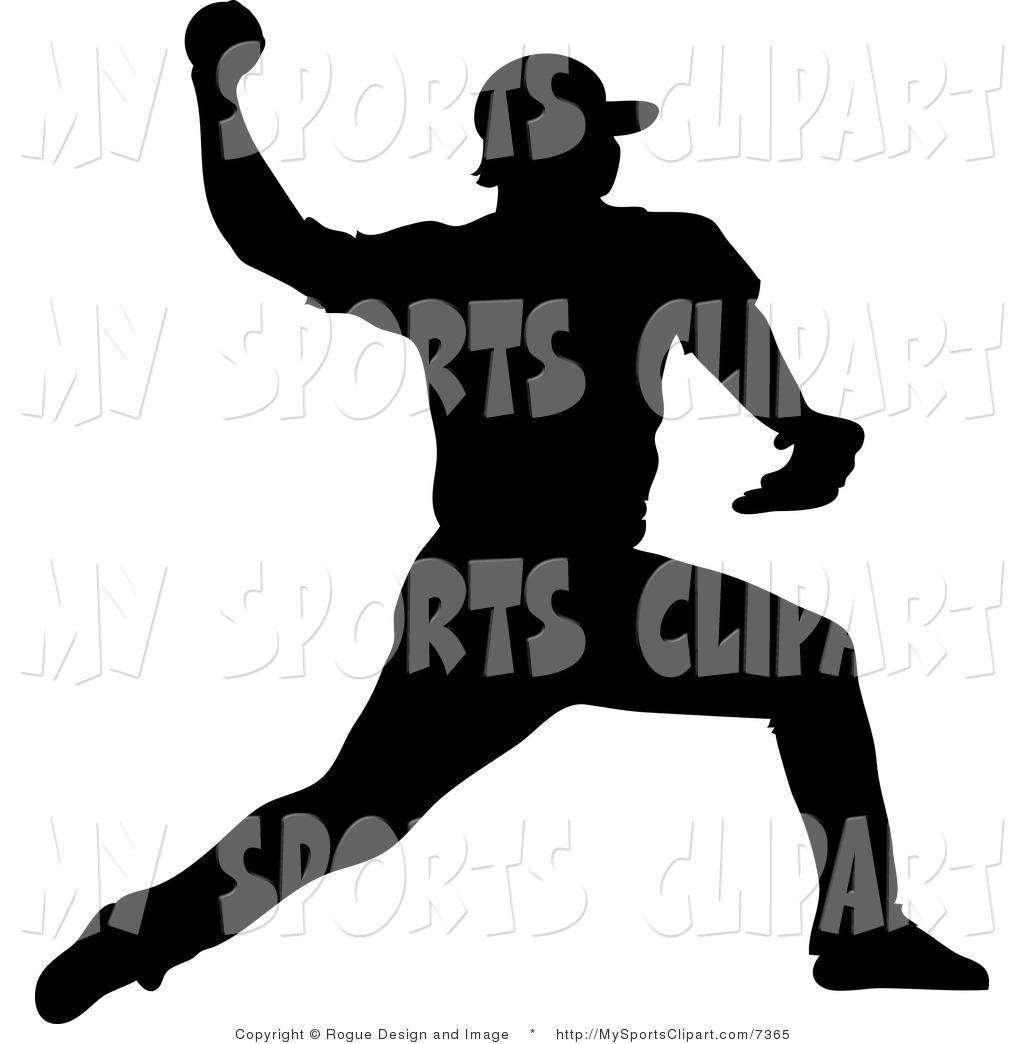 Athletic clipart baseball. Sports clip art of