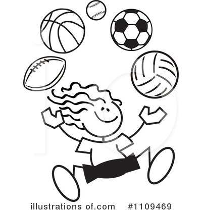 Athletic clipart black and white.  collection of playing