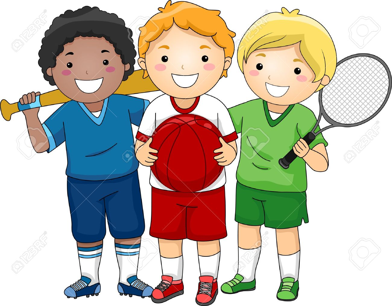 Athletic clipart boys. Free boy clipartmansion com