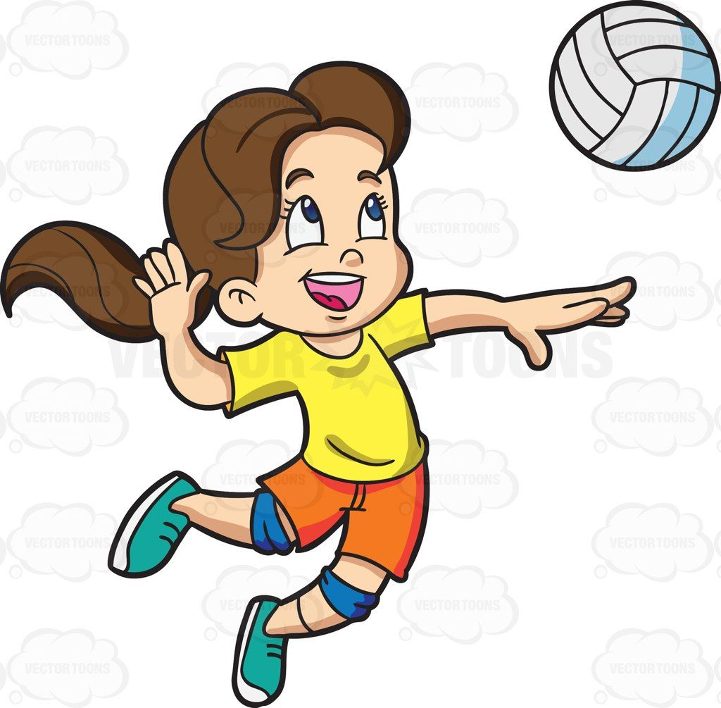 Athletic clipart boys. A girl playing badminton