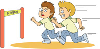 Free sports clip art. Athletic clipart boys