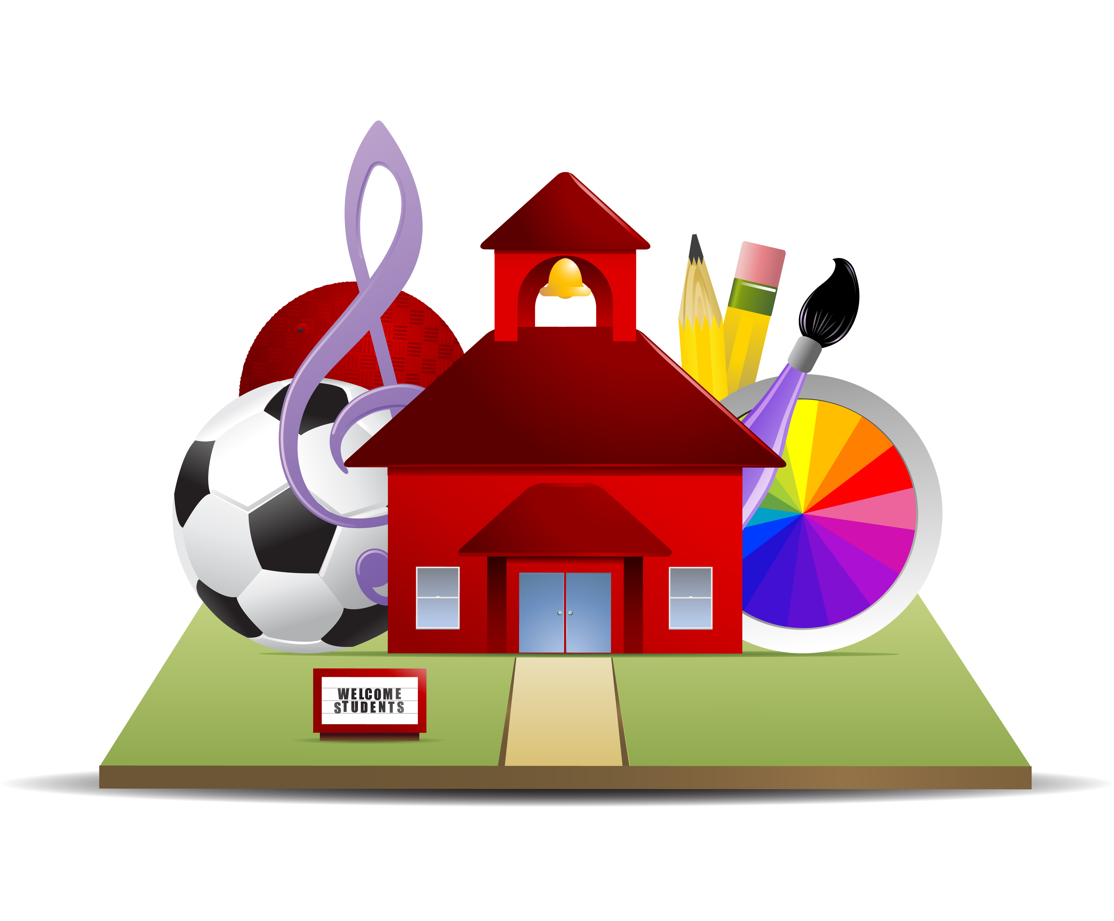Extracurriculars are robbing students. Athletic clipart extra curricular activity