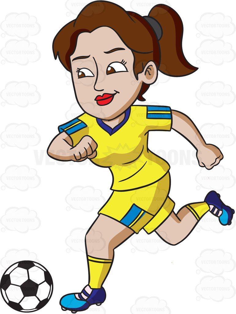 Athletic female athlete