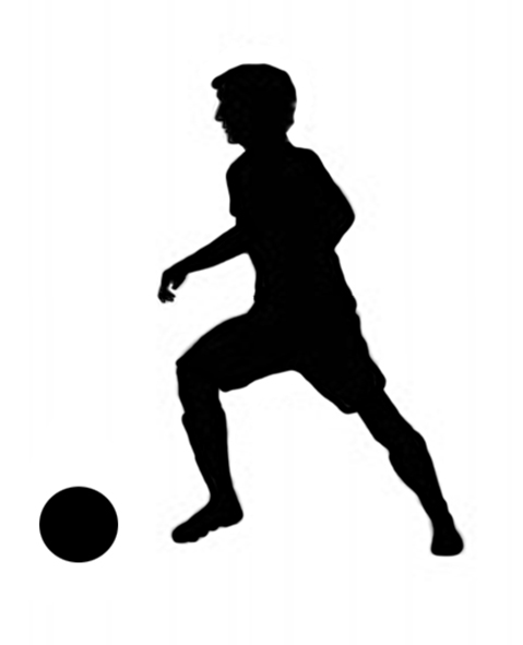 Different kinds of sports. Black clipart sport