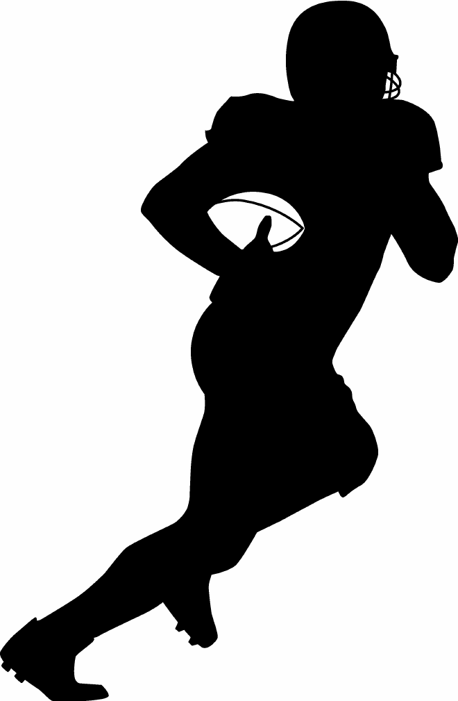 Athletic clipart football. Picture of a image
