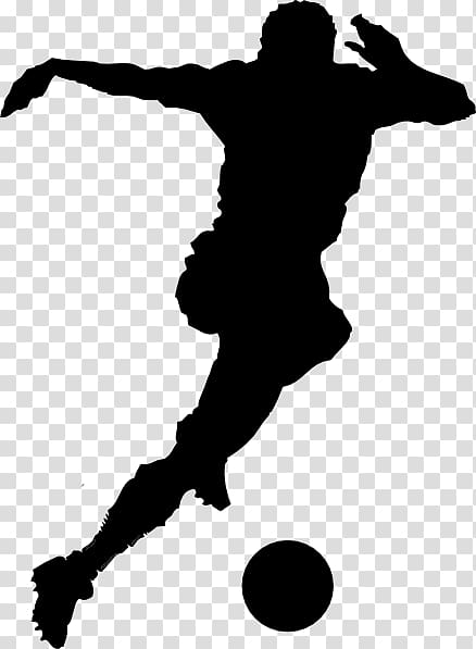 Player american sports silhouette. Athletic clipart football