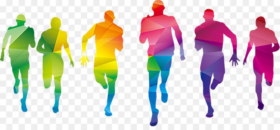 Athletic clipart fun run. Color graphic design sport