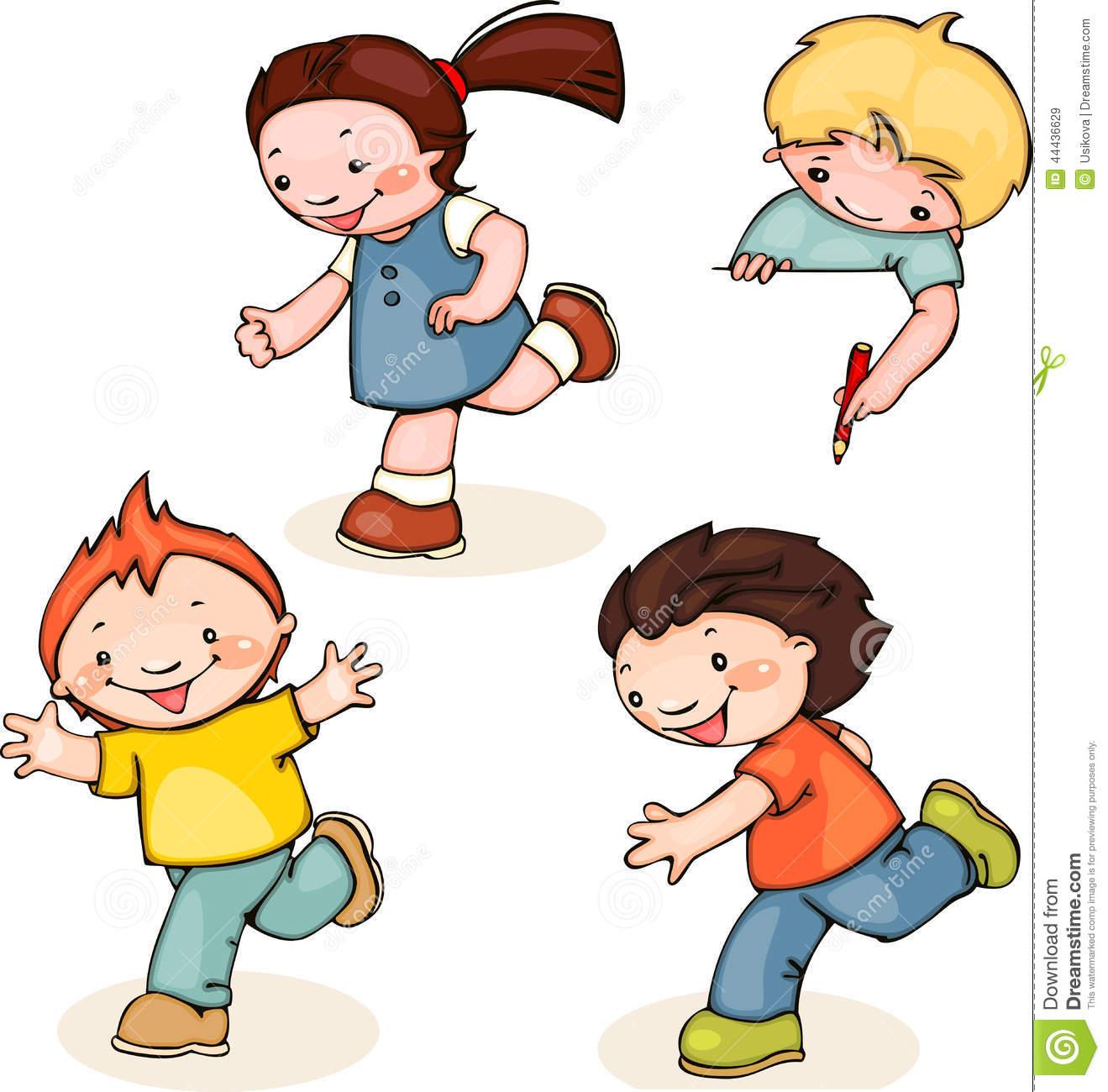 Athletic clipart fun run. Running child clip art