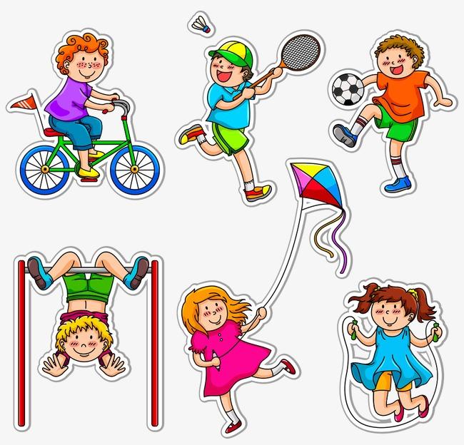 Children clipart sport. Do all kinds of