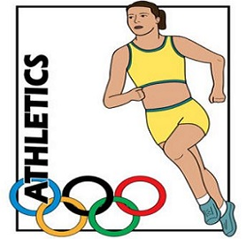 Athletic clipart olympic athlete. Free summer olympics tags