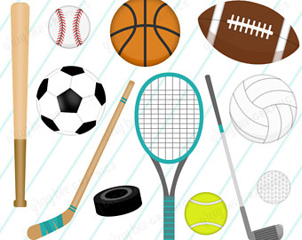 Athletic clipart outdoor sport. Sports clip art basketball