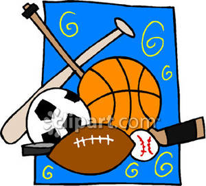 Kids playing sports panda. Athletic clipart outdoor sport