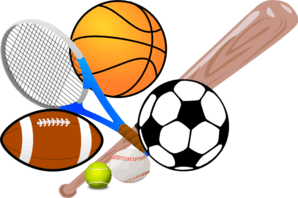 Sports clip art library. Athletic clipart outdoor sport