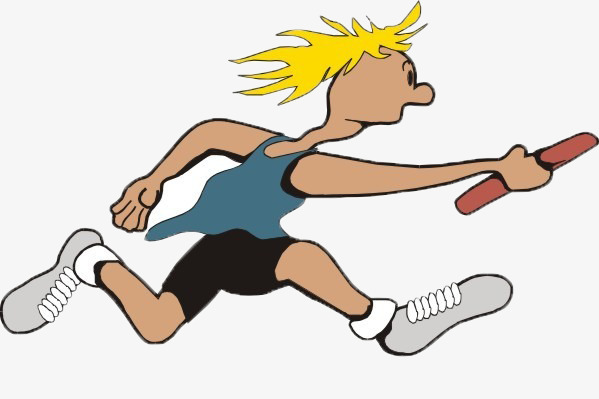 Athletic clipart race. Relay athletics png image