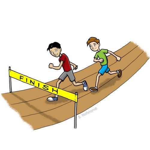 Field day clip art. Athletic clipart race