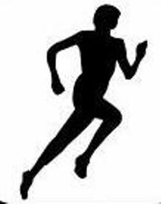 Athletic clipart runner. Running shoe track shoes