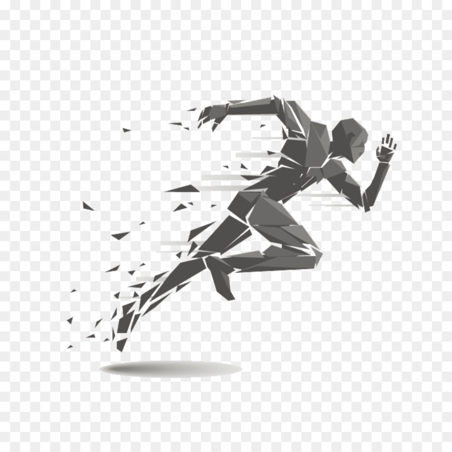 Running track and field. Athletic clipart runner