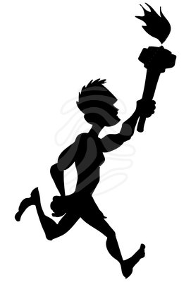 Athletic clipart runner. Athletics free download best