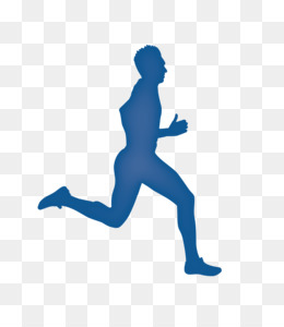 Athletic clipart running man. Silhouette royalty free clip