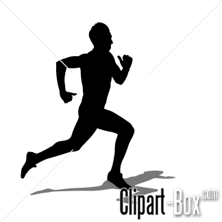 Collection gingerbread. Athletic clipart running man