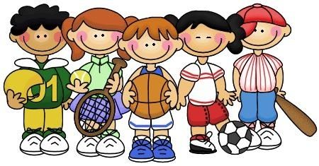 Bag clipart kid clipart. Kids playing sports clipartsgram