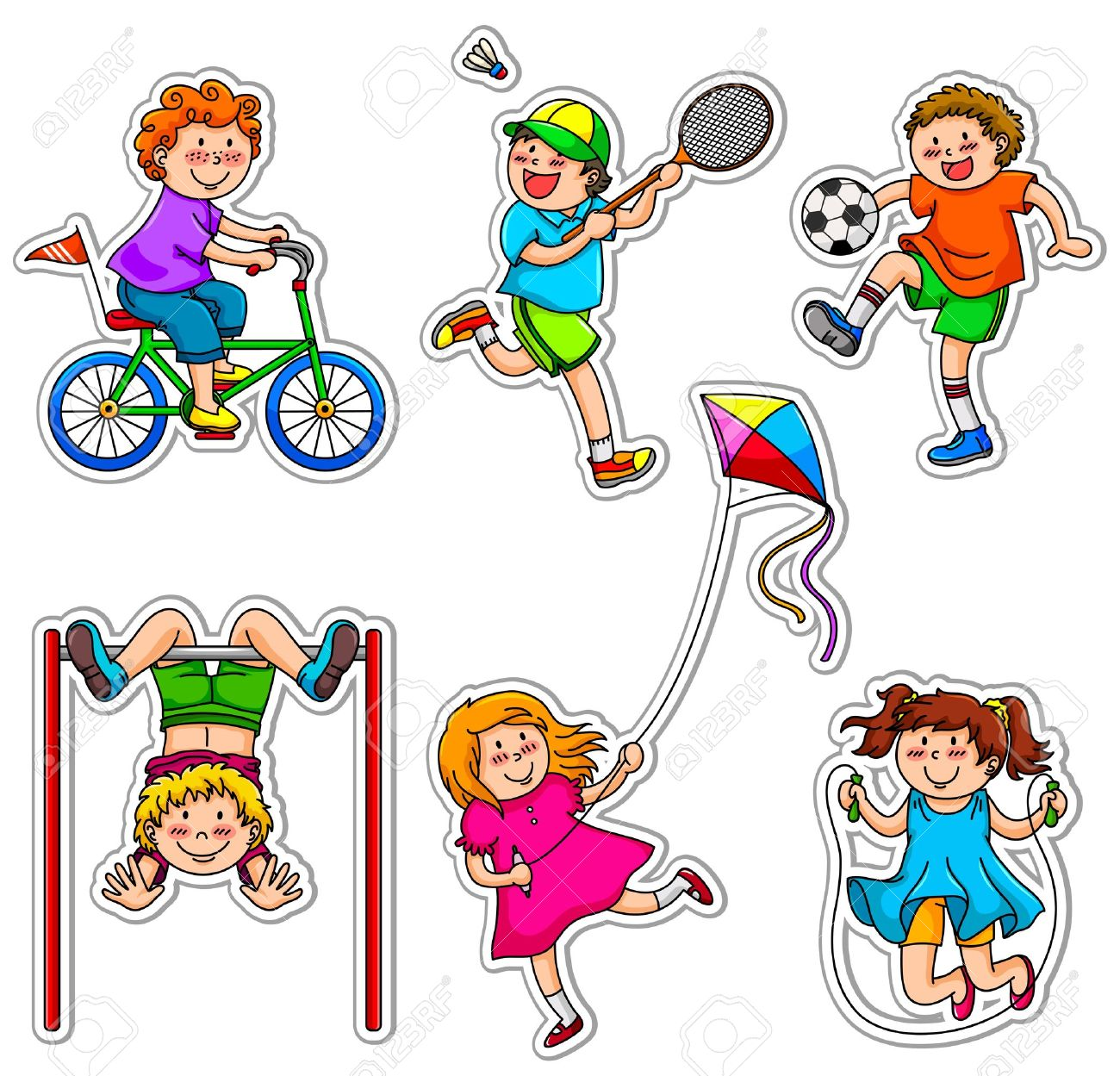 Cartoon sports images free. Athletic clipart sport activity