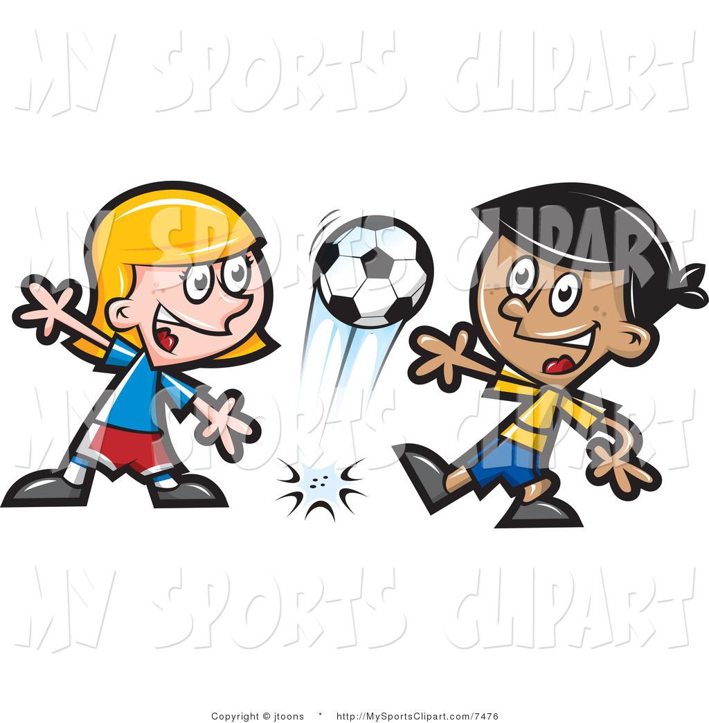 Children clipart sport. Happy students sports
