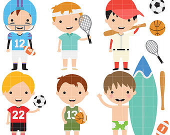 A clipart sport. Sports black and white
