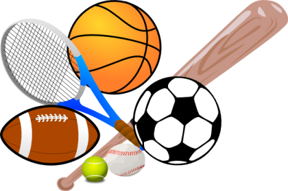 Sport pencil and in. Athletic clipart transparent