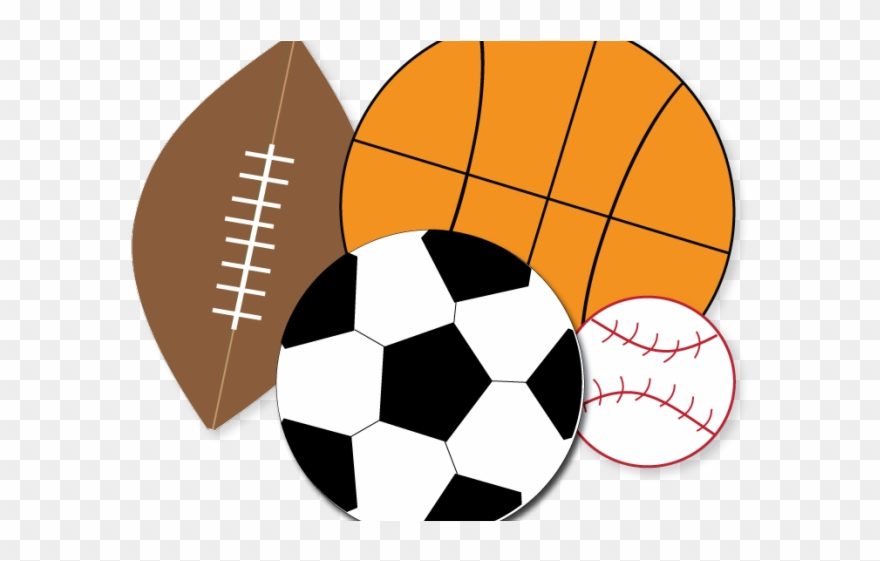Athletic clipart transparent. Sports clear background