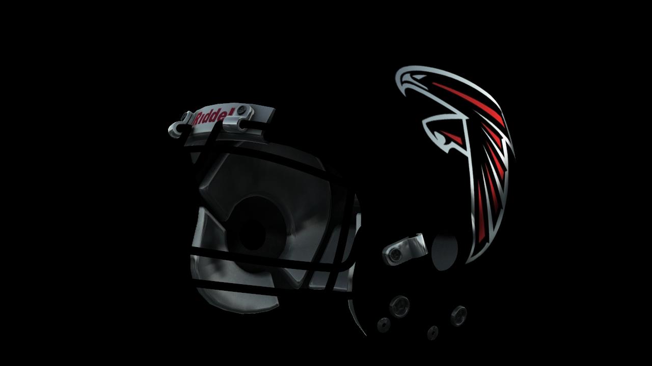 Atlanta falcons helmet png. Nfl halfmoon s helmets