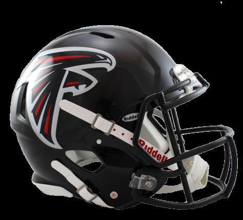 Atlanta falcons helmet png. Full size replica speed