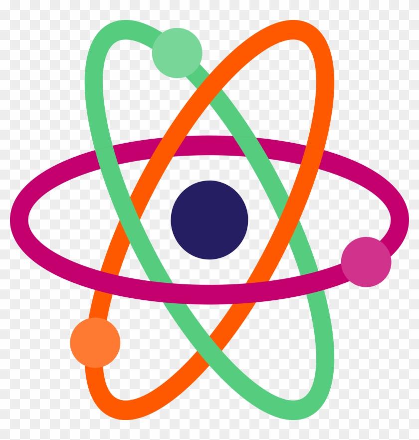 Atom clipart. Free transparent atoms clip