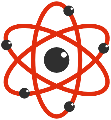 Atom clipart atom structure. Electrons science atoms molecules