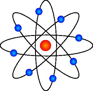 Symbol clip art exercise. Atom clipart atom structure