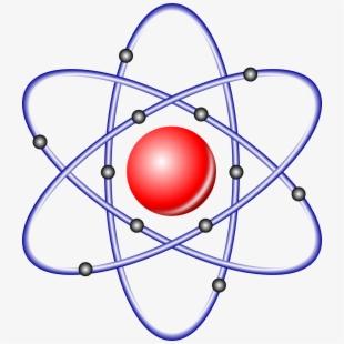 Chemistry transparent background png. Atom clipart atomic model