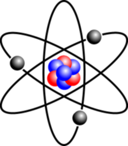 Atom clipart atomic theory. History of the timeline