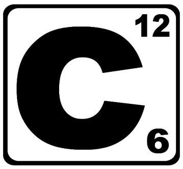 Thinglink . Atom clipart carbon atom