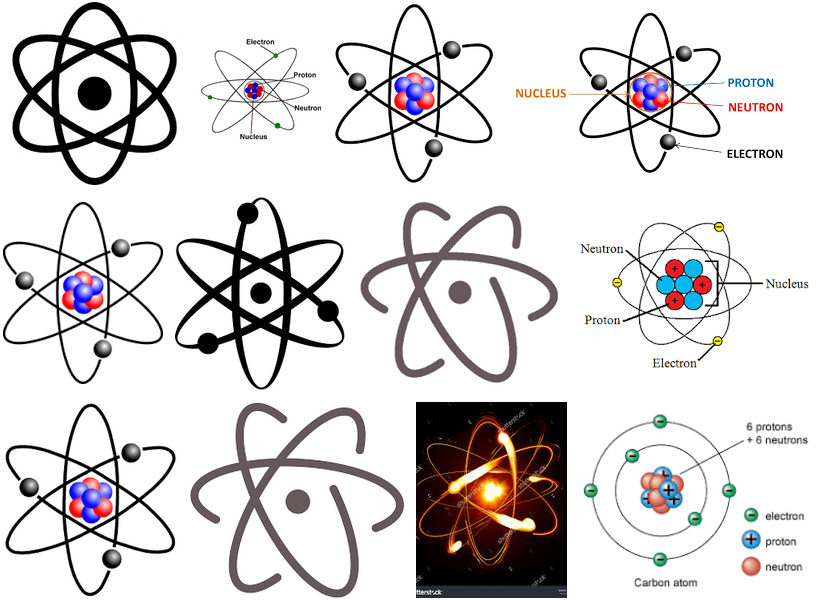 University of illinois bonding. Atom clipart carbon atom